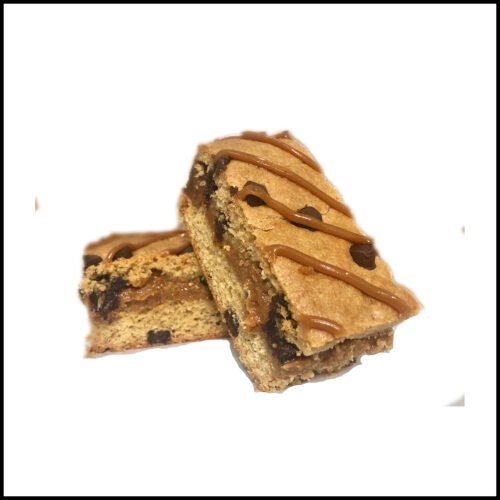 Dorset Jurassic slice, created using the original recipe and only the finest ingredients including caramel, dates, full of natural flavour, by Milly and billy cake and savoury bake company