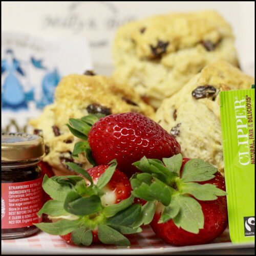Dorset bakery milly and billy cake and savoury bake company mothers day cream tea gift box