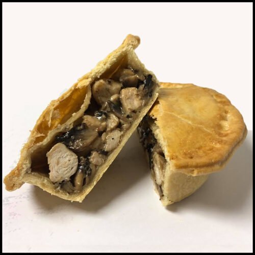 Dorset bakery Milly and billy cake and savoury cake company wild mushroom and chicken pie